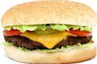 hamburger, beef, food