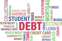 credit, student debt, maze
