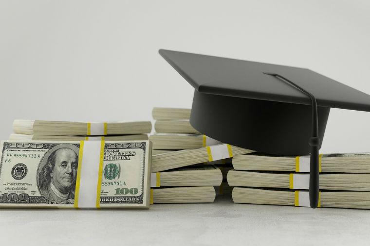 student loan money grad