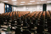 classroom, forum, seminar