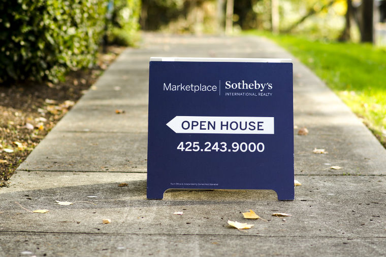 real estate, open house, sign