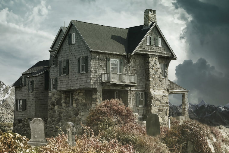 About 60% who have lived in a haunted house said they found out after moving in