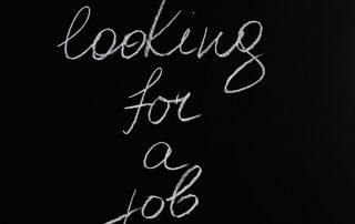 help wanted job signs